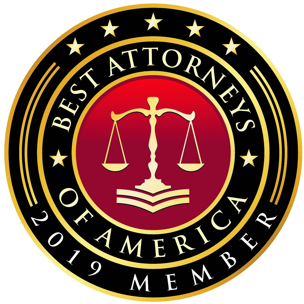 2019 Best Attorneys of America Member Badge