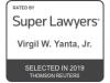 Rising Star -- Super Lawyers - Virgil Yanta Jr.